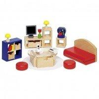 Набор для кукол goki Мебель для гостинной II (51749G)