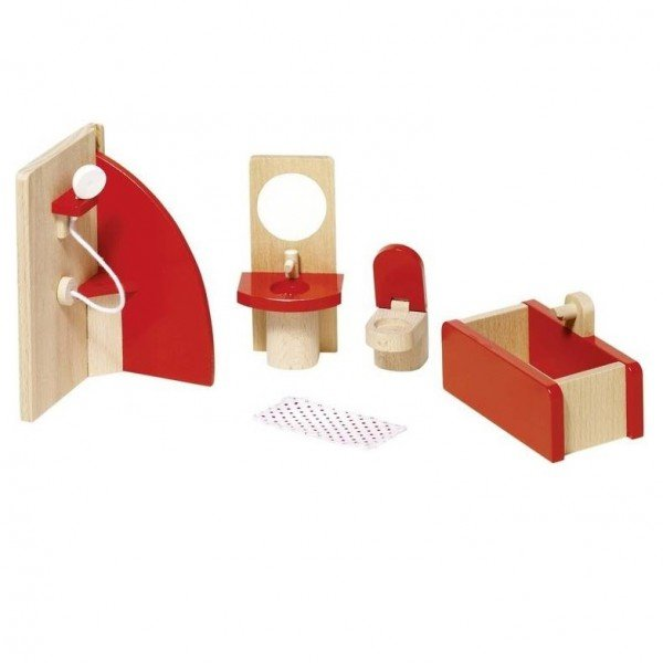 Купить Набор для кукол goki Мебель для ванной (51717G)