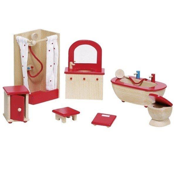 Купить Набор для кукол goki Мебель для ванной (51959G)