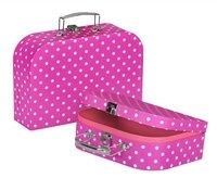 Игровой чемодан goki Фиолетовый в горошек (60106G)