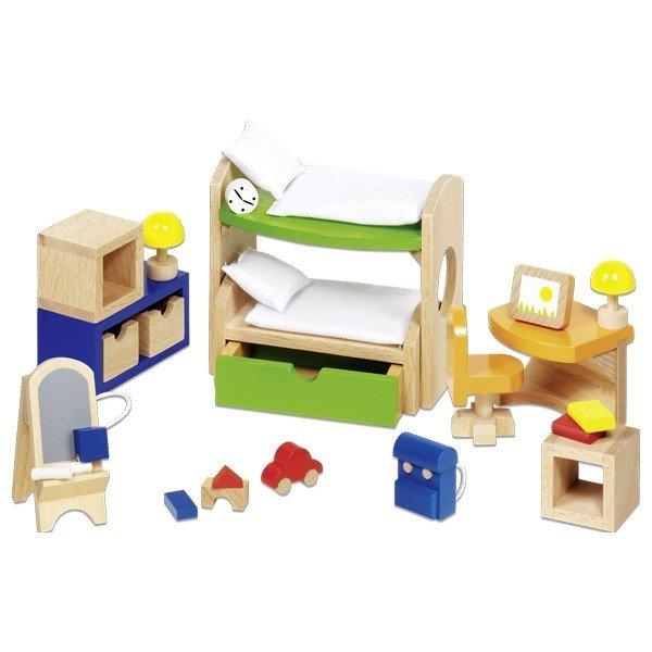 Набор для кукол goki Мебель для детской комнаты (51746G)
