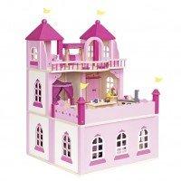 Кукольный домик goki Замок 2 этажа, закрывающийся (51772G)