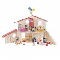 Кукольный домик-конструктор goki (51737G)
