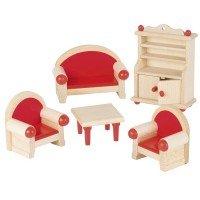 Набор для кукол goki Мебель для гостинной (51952G)