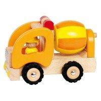 Машинка деревянная goki Бетономешалка (55926G)