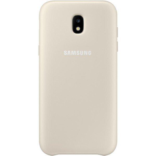 Купить Чехлы для телефонов (смартфонов), Чехол Samsung для Galaxy J3 2017 (J330) Dual Layer Cover Gold