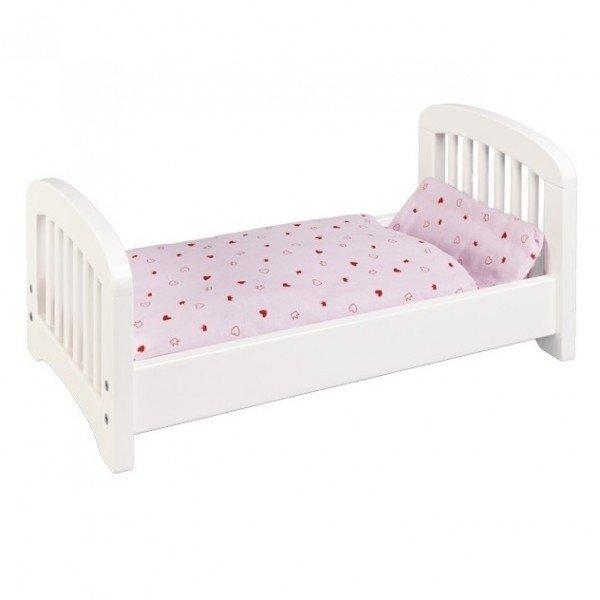 Купить Кроватка для кукол goki Белая (51734G)