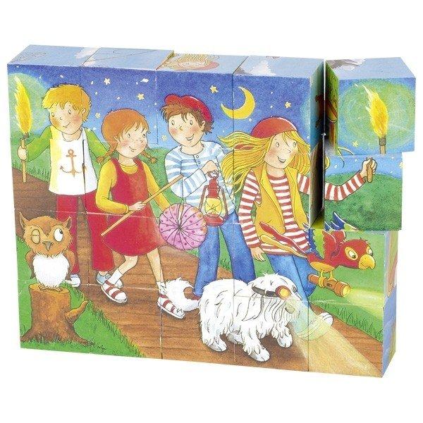 Купить Кубики goki Peggy Diggledey (57738G)
