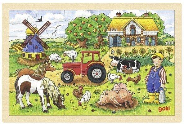 Купить Пазл goki Ферма мистера Миллера (57891G)