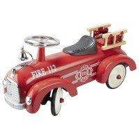 Толокар goki Пожарная машина красная (14162G)