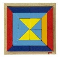 Деревянный пазл goki Мир форм-треугольники (57572-1)