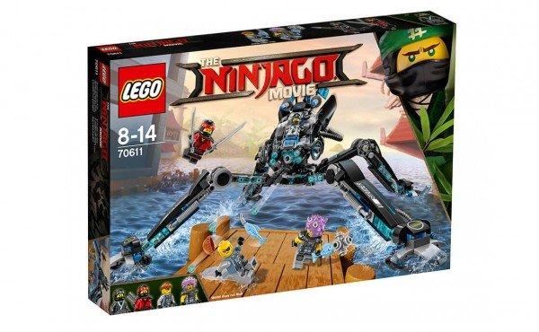Купить Конструктор LEGO Ninjago Водяной Робот (70611)