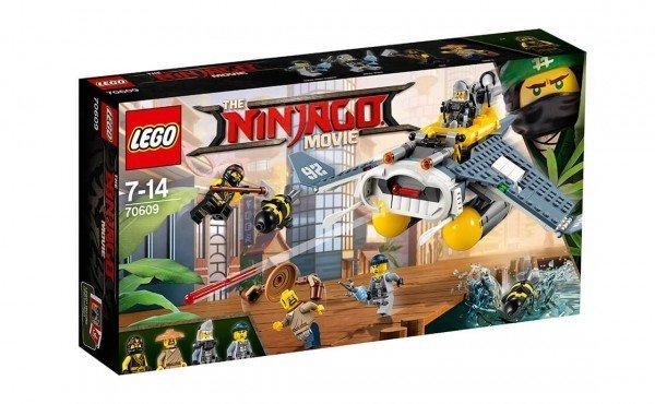 Купить Конструктор LEGO Ninjago Бомбардировщик Морской дьявол (70609)