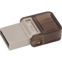 Накопичувач USB 2.0/microUSB KINGSTON DT MicroDuo 8GB (DTDUO/8GB)