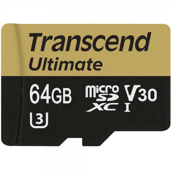 Купить Карта памяти Transcend microSDXC 64GB Class 10 UHS-I U3 R95MB/s