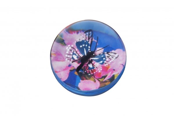 Купить Мячик-попрыгун goki Бабочка черная в точечку (16019G-3)