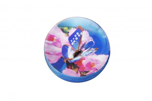 Купить Мячик-попрыгун goki Бабочка синяя (16019G-1)