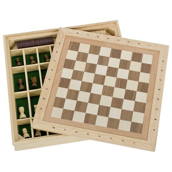Купить Настольная игра goki Шахматы и шашки + 9 игр. (56953G)