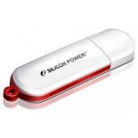 Накопитель USB 2.0 SILICON POWER LuxMini 320 4GB White (SP004GBUF2320V1W)