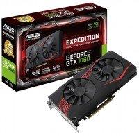 Відеокарта ASUS GeForce GTX 1060 6GB GDDR5 Expedition (EX-GTX1060-6G)