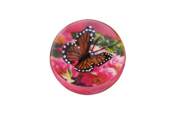 Купить Мячик-попрыгун goki Бабочка коричневая (16019G-4)
