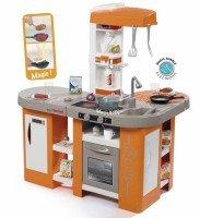 Интерактивная кухня Smoby Tefal Studio с эффектом кипения оранжевая (311026)