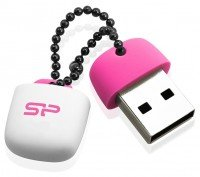 Накопичувач USB 2.0 SILICON POWER Touch T07 4 GB Pink (SP004GBUF2T07V1P)