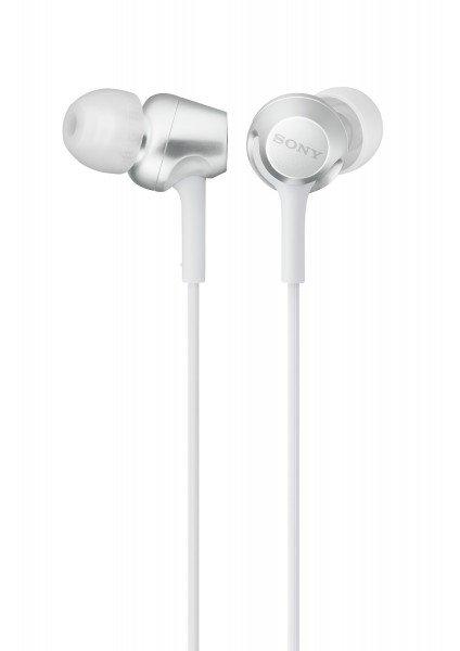 Купить Наушники Sony MDR-EX255AP mic white