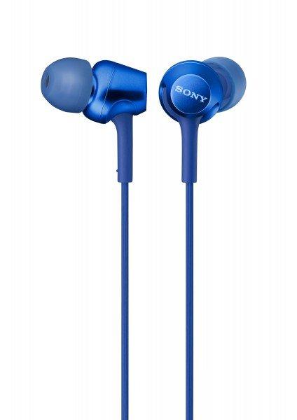 Купить Наушники Sony MDR-EX255AP mic blue