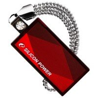 Накопитель USB 2.0 SILICON POWER Touch 810 64GB Red (SP064GBUF2810V1R)