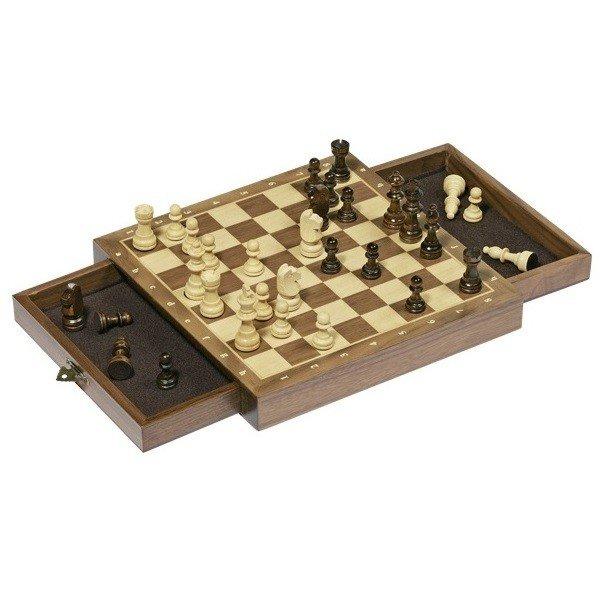 Настольная игра goki Шахматы с ящичками (56919G) фото 1
