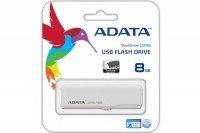 Накопичувач USB 2.0 ADATA DashDrive UV110 8GB White (AUV110-8G-RWH)