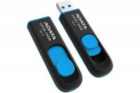 Накопитель USB 3.0 ADATA UV128 32GB Black/Blue (AUV128-32G-RBE)
