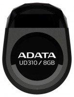 Накопичувач USB 2.0 ADATA DASHDRIVE DURABLE UD310 8GB (AUD310-8G-RBK)