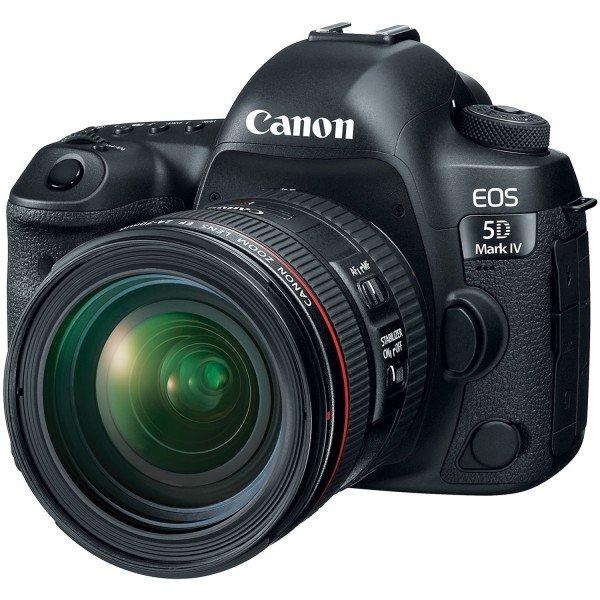 Купить Фотоаппарат CANON EOS 5D Mark IV + 24-70mm f/4 L IS II USM (1483C033)