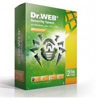Антивирус Dr.Web Security Space 2 ПК 24 месяца карточка