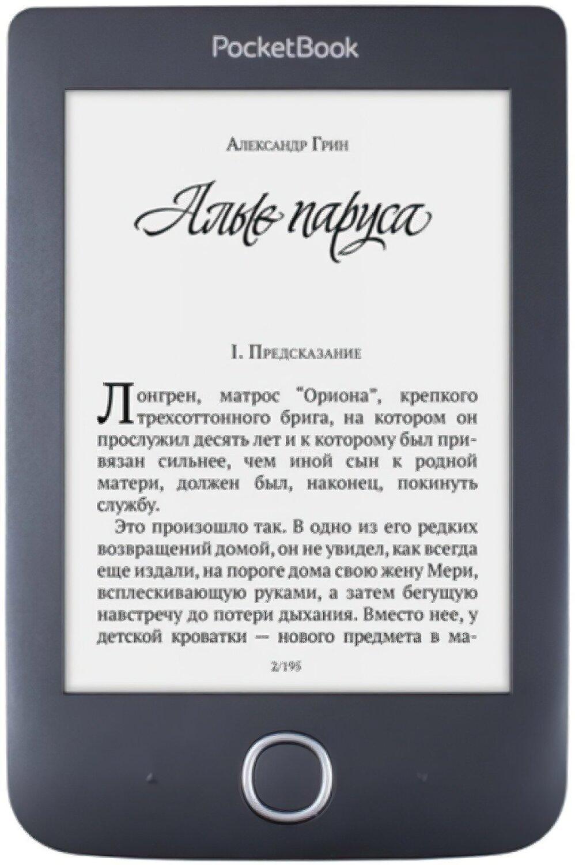 Електронна книга PocketBook 614 Basic 3 Black фото1