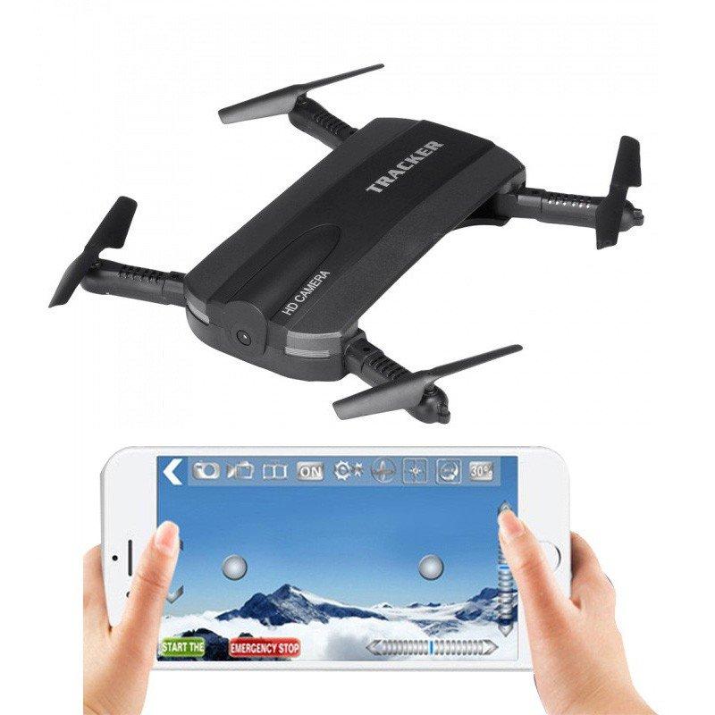 ≡ Квадрокоптер JXD 523 210мм складной WiFi камера барометр