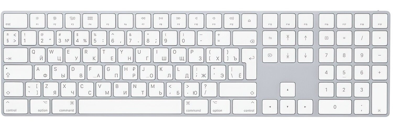 Клавиатура Apple A1843 Wireless Magic Keyboard with Numpad фото