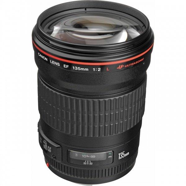 Купить Объективы, Объектив Canon EF 135 mm f/2.0L USM (2520A015)