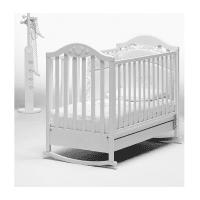 Детская кроватка BABY ITALIA DIDI WHITE 132х77 см (DIDI WHITE)