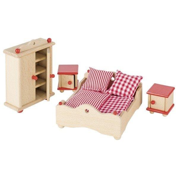 Купить Набор для кукол goki Мебель для спальни (51954G)