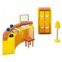 Набор для кукол goki Мебель для офиса Ресепшин (51696G)