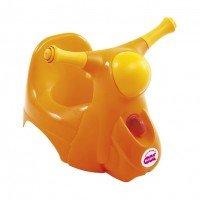 Детский горшок Ok Baby SCOOTER со звуковой фарой желтый (38229900/38)