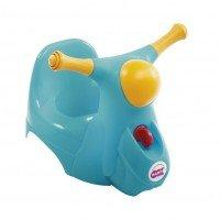 Дитячий горщик Ok Baby SCOOTER зі звуковою фарою синій (38229900/84)
