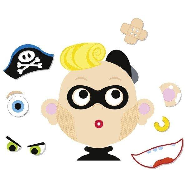 Развивающая игра goki Забавные гримасы мальчик (58488G) фото