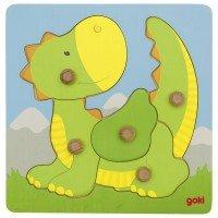 Пазл-вкладиш goki Дракон (57553G)