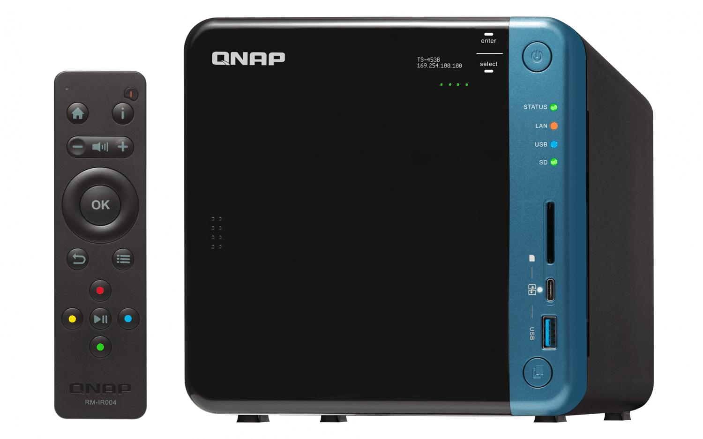 Мережеве сховище QNAP TS-453B-8G фото