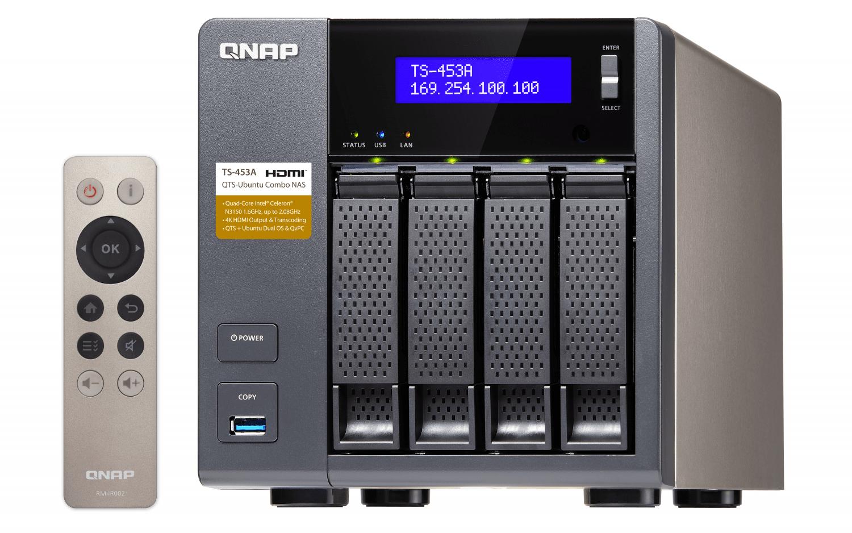 Мережеве сховище QNAP TS-453A-8G фото