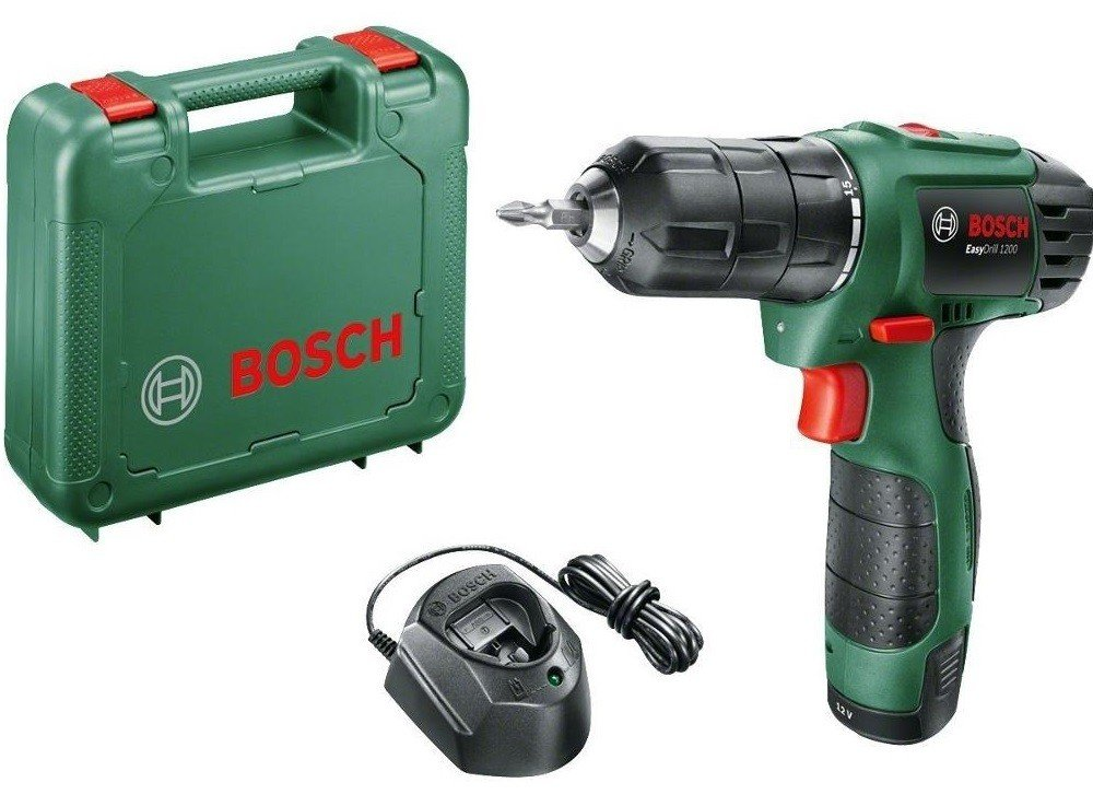 Аккумуляторный шуруповерт Bosch EasyDrill 1200 (06039A210A) фото 1